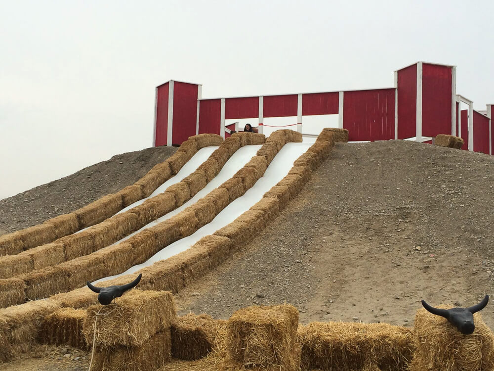 image of cobbs giant hill slides